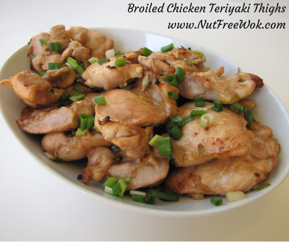 Moist, juicy, and tender to eat Broiled Teriyaki Chicken Thighs Recipe that is easy to prepare at home for a quick weeknight meal or for special gatherings.
